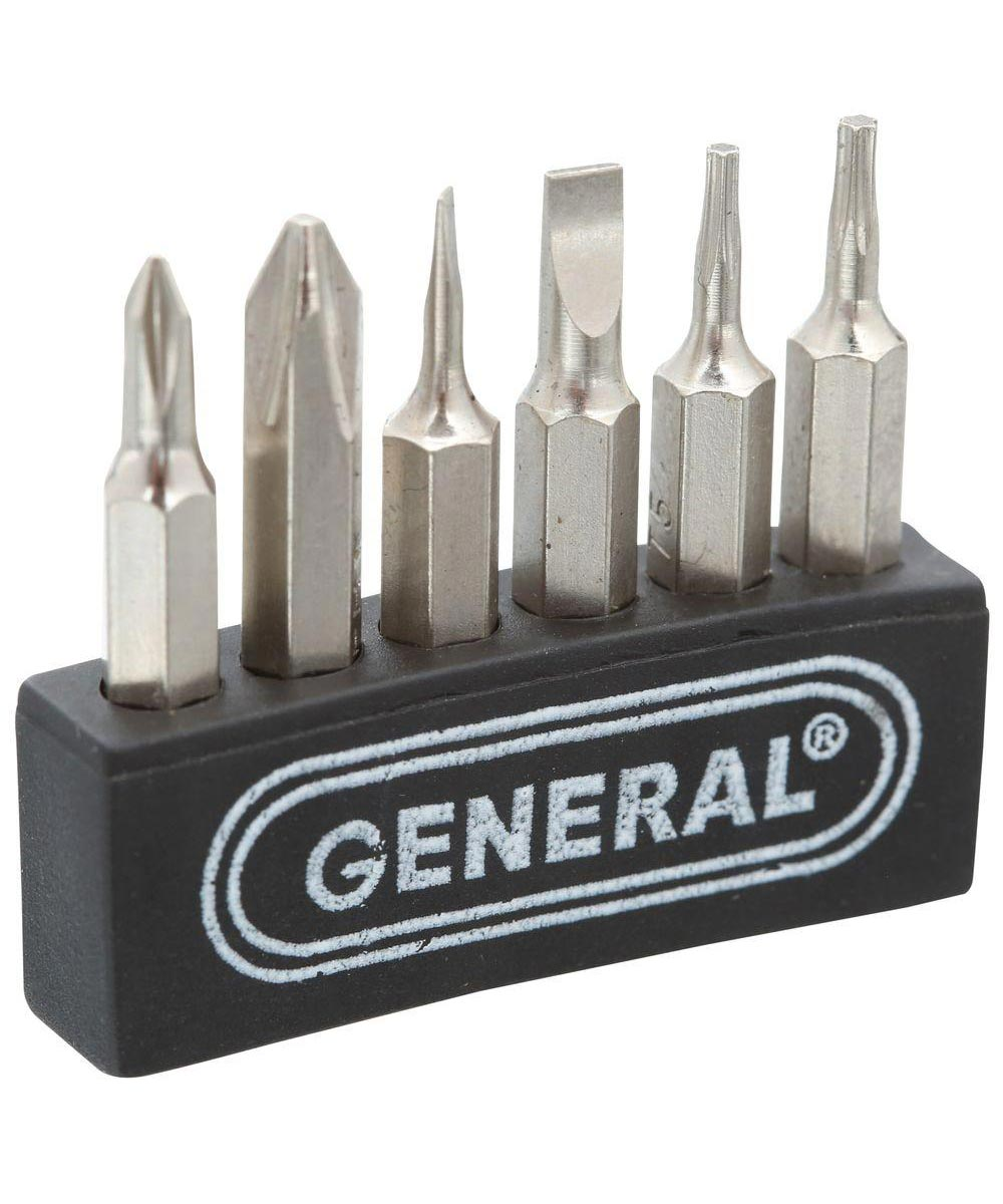 General Cordless Power Precision Screwdriver 7 Piece Set