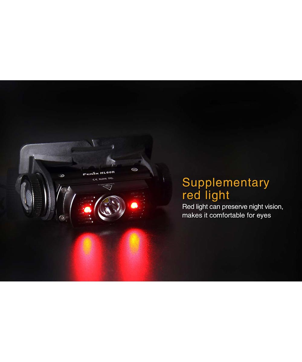Fenix Waterproof USB Rechargeable Headlamp