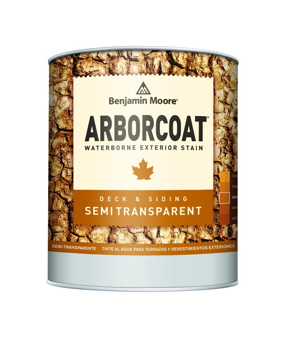 1 Gallon Arborcoat Exterior Waterborne Semi-Transparent Stain, Red Tint