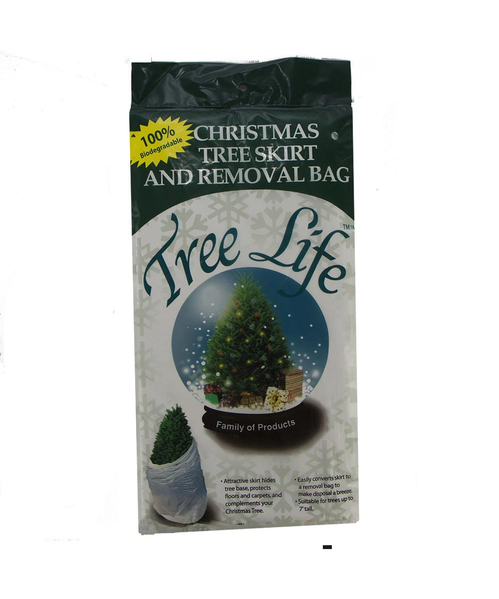 Tree Life 2-in1 Christmas Tree Skirt & Removal Bag