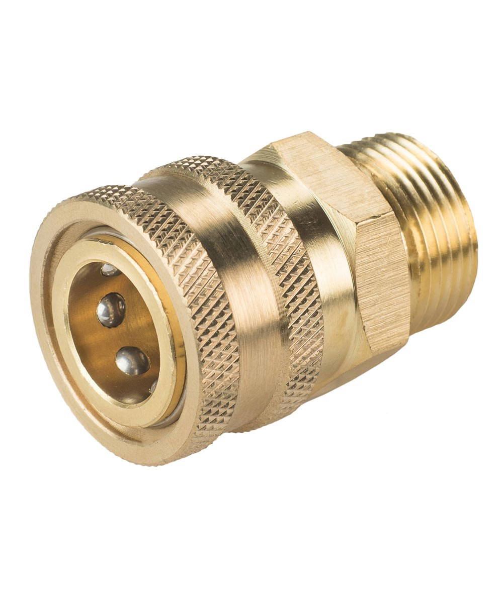 Karcher M22 Male x 3/8 in. Female Socket Adapter for Pressure Washers