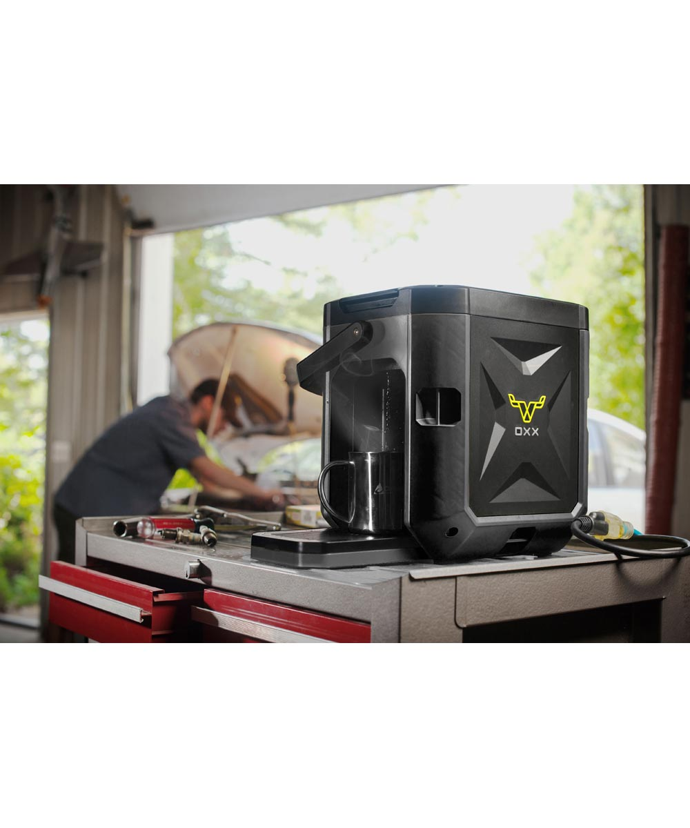 COFFEEBOXX Rugged Jobsite Coffee Maker in Special Ops Black