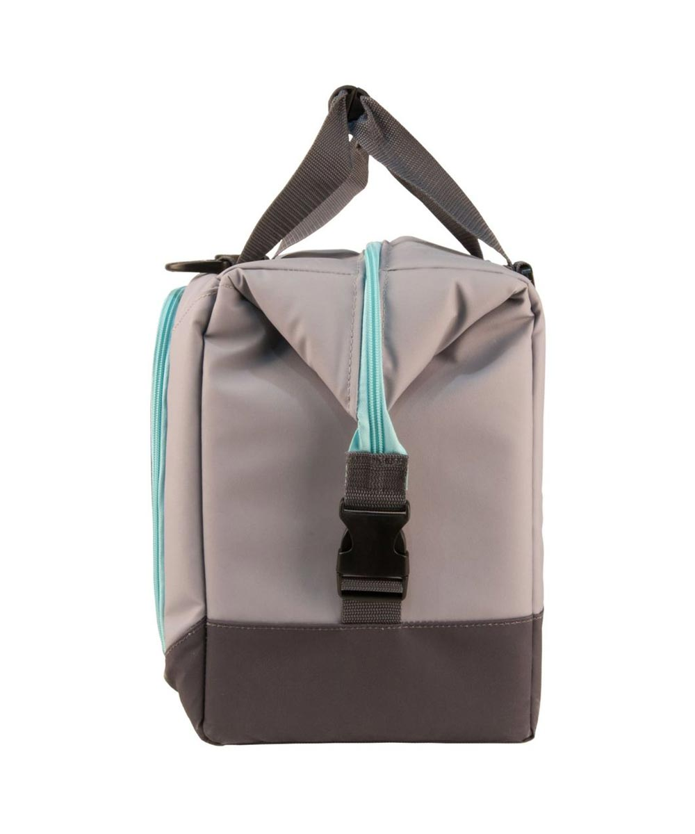 Igloo Marine Ultra Snapdown 36-Can Cooler Bag, Gray/Seafoam
