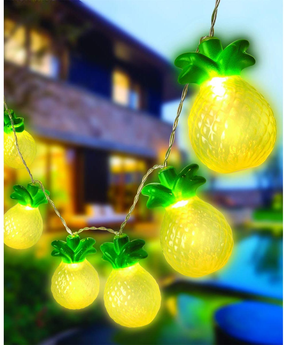 Pineapple Battery Operated LED String Lights