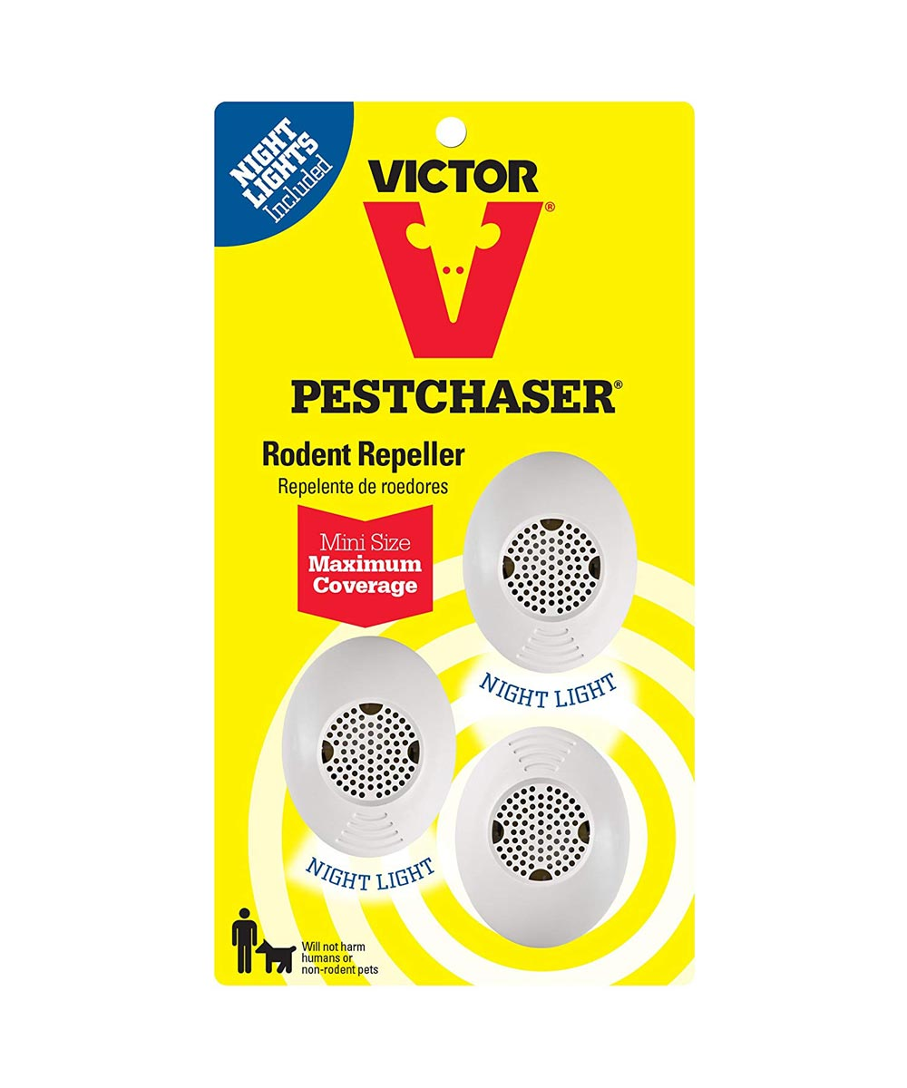 Victor Mini PestChaser with Nightlight, 3 Units