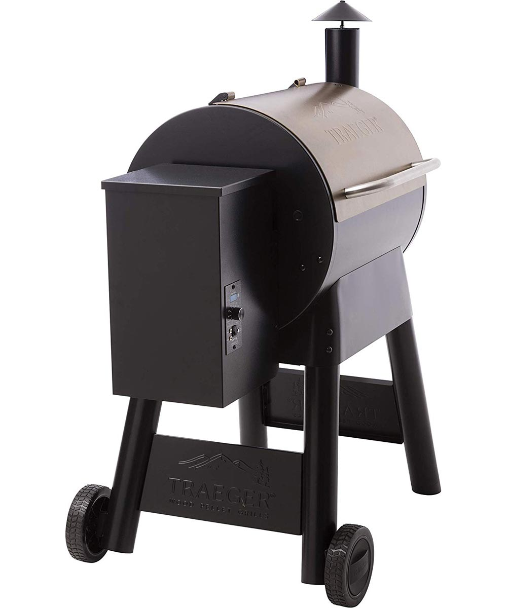 Pro Series 22 Pellet Grill and Smoker, Bronze