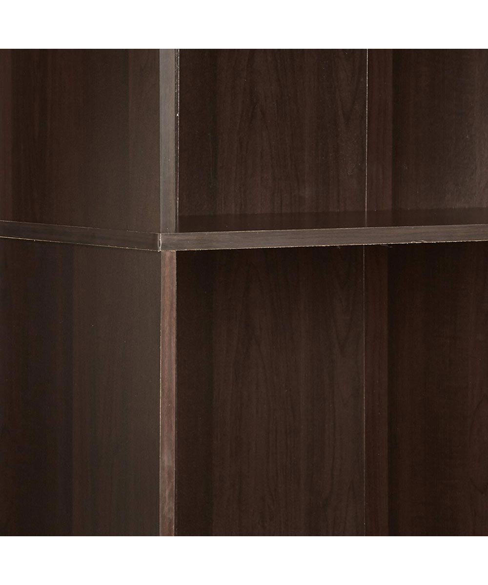 5-Shelf Bookcase, Cinnamon Cherry Finish