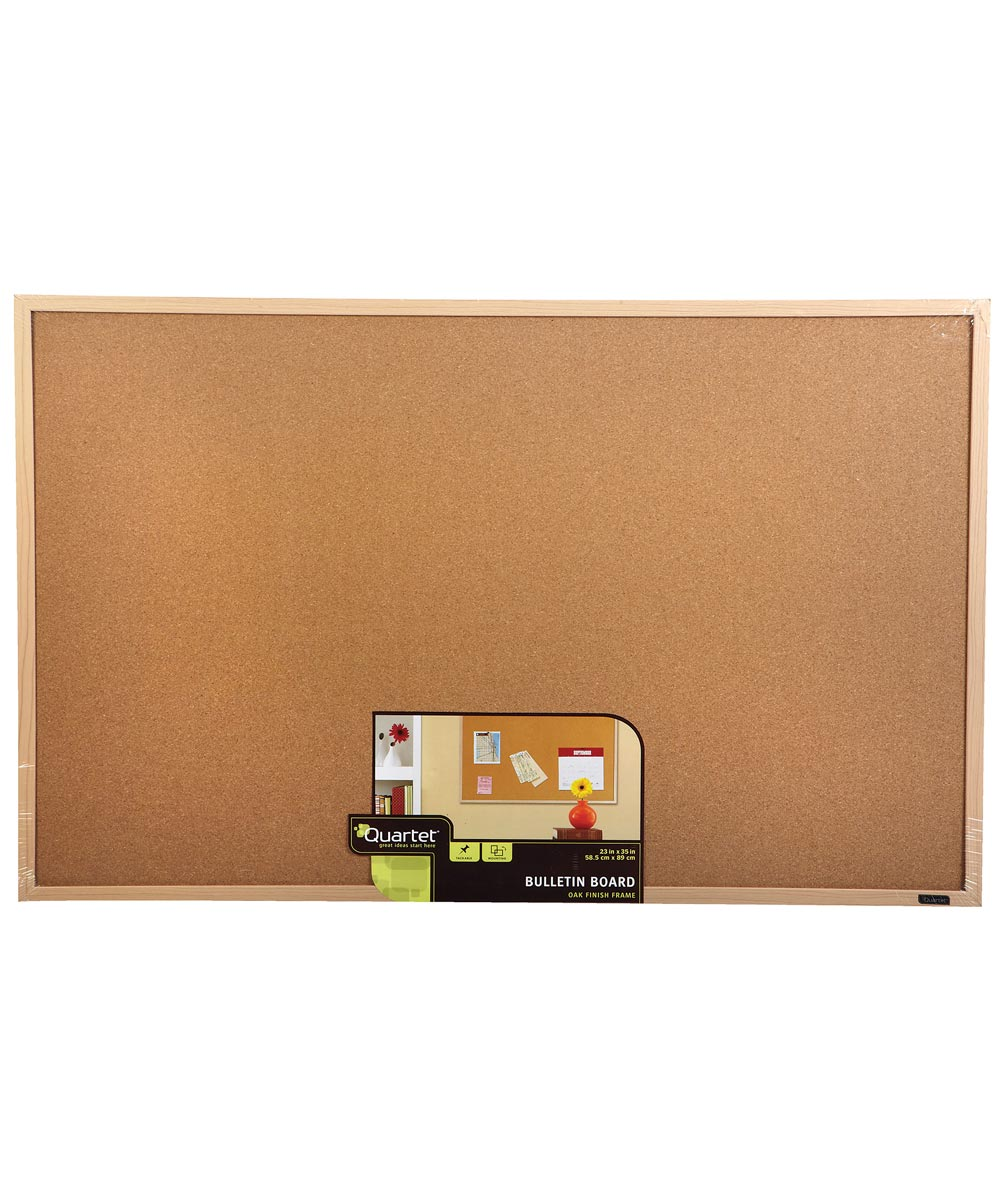 23 in. x 35 in. Cork Bulletin Board
