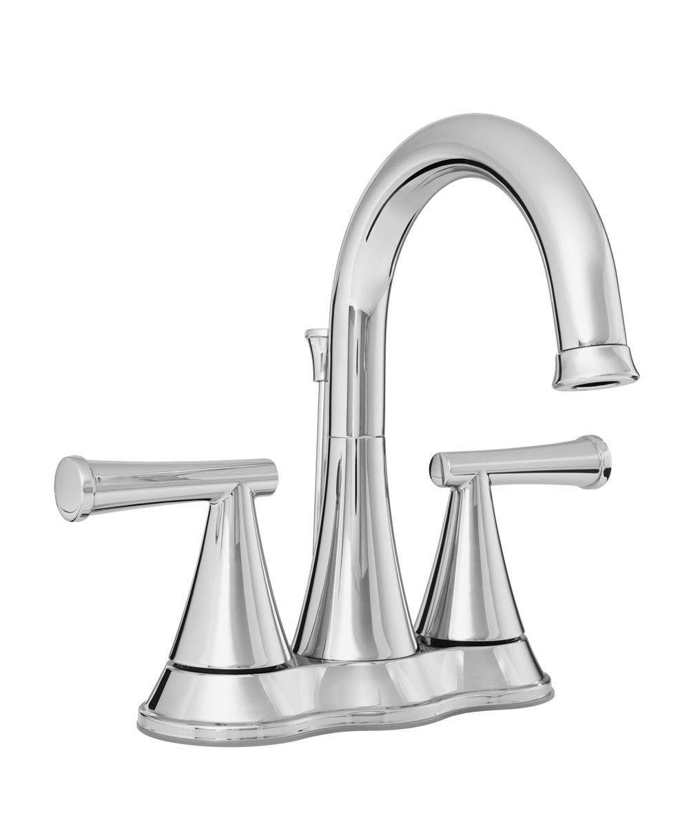 ProFlo 1.2 GPM 3-Hole Widespread Bathroom Faucet with Brass Pop-Up Drain Assembly, Polished Chrome