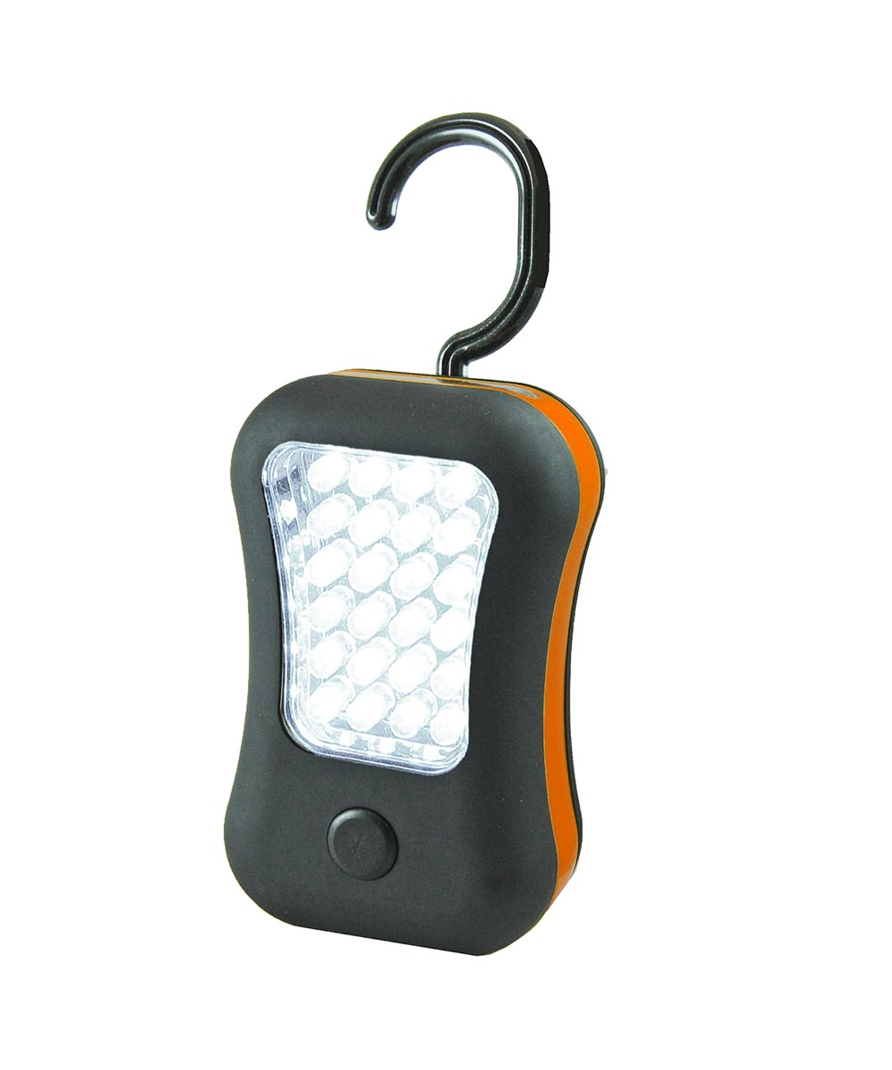 28 LED Dual Work Light with Swivel Hook & Magnet, Assorted Body Colors