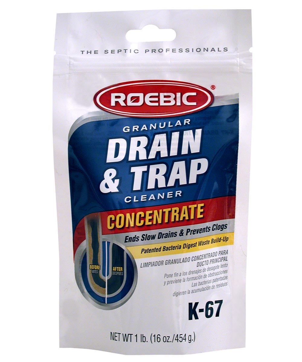 Roebic 16 Oz Granular Drain & Trap Cleaner
