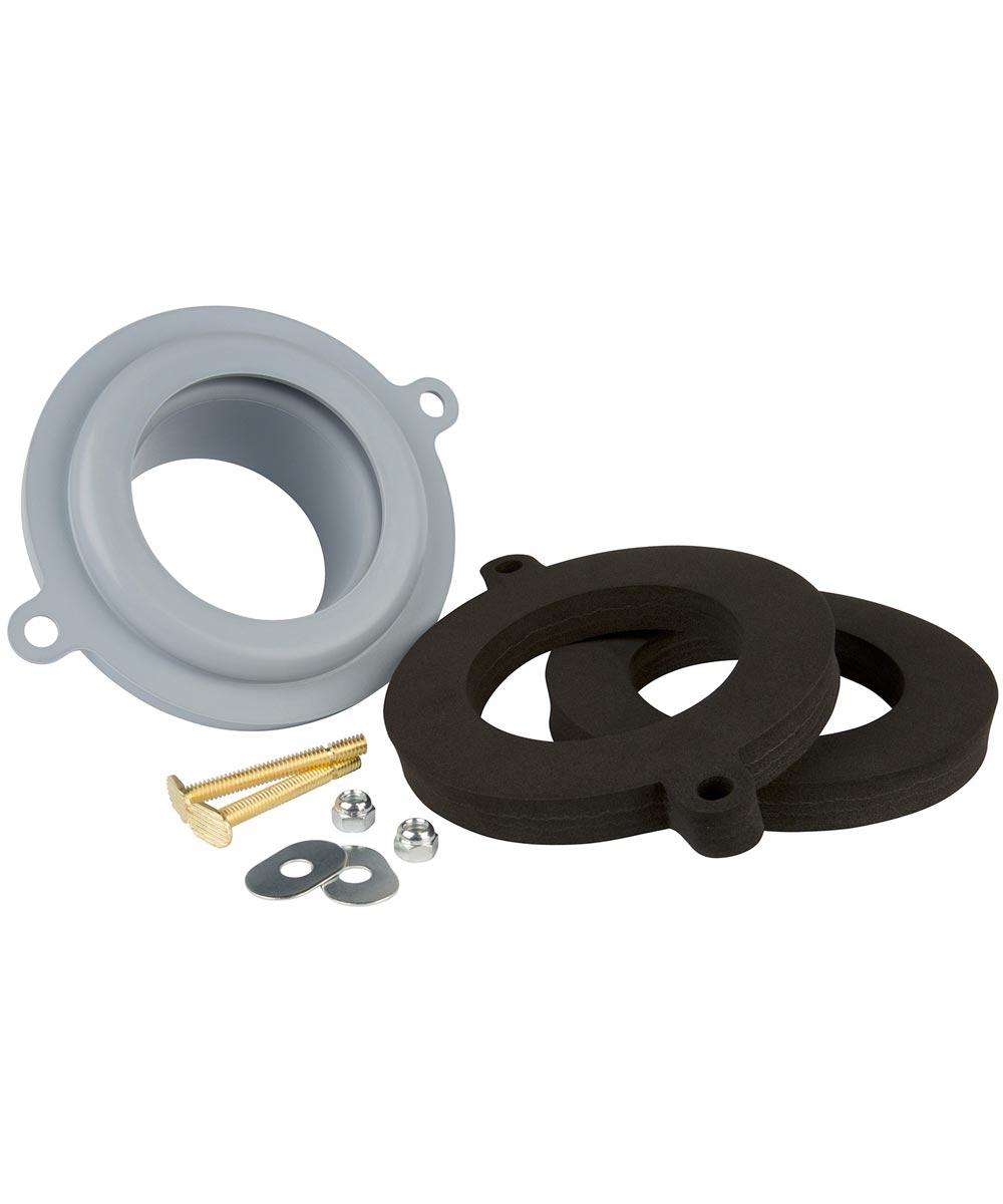 Plumb Craft Waxman Universal Seal Tight Waxless Toilet Gasket Kit