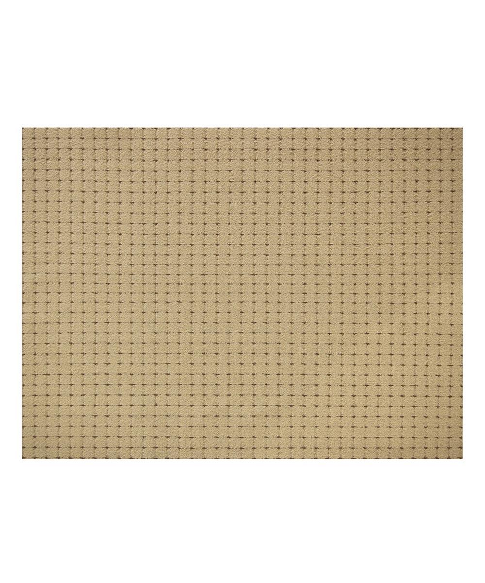Multy 3 ft. x 4 ft. Tufted Tan Pin Dot Gel Foam Backed Floor Mat