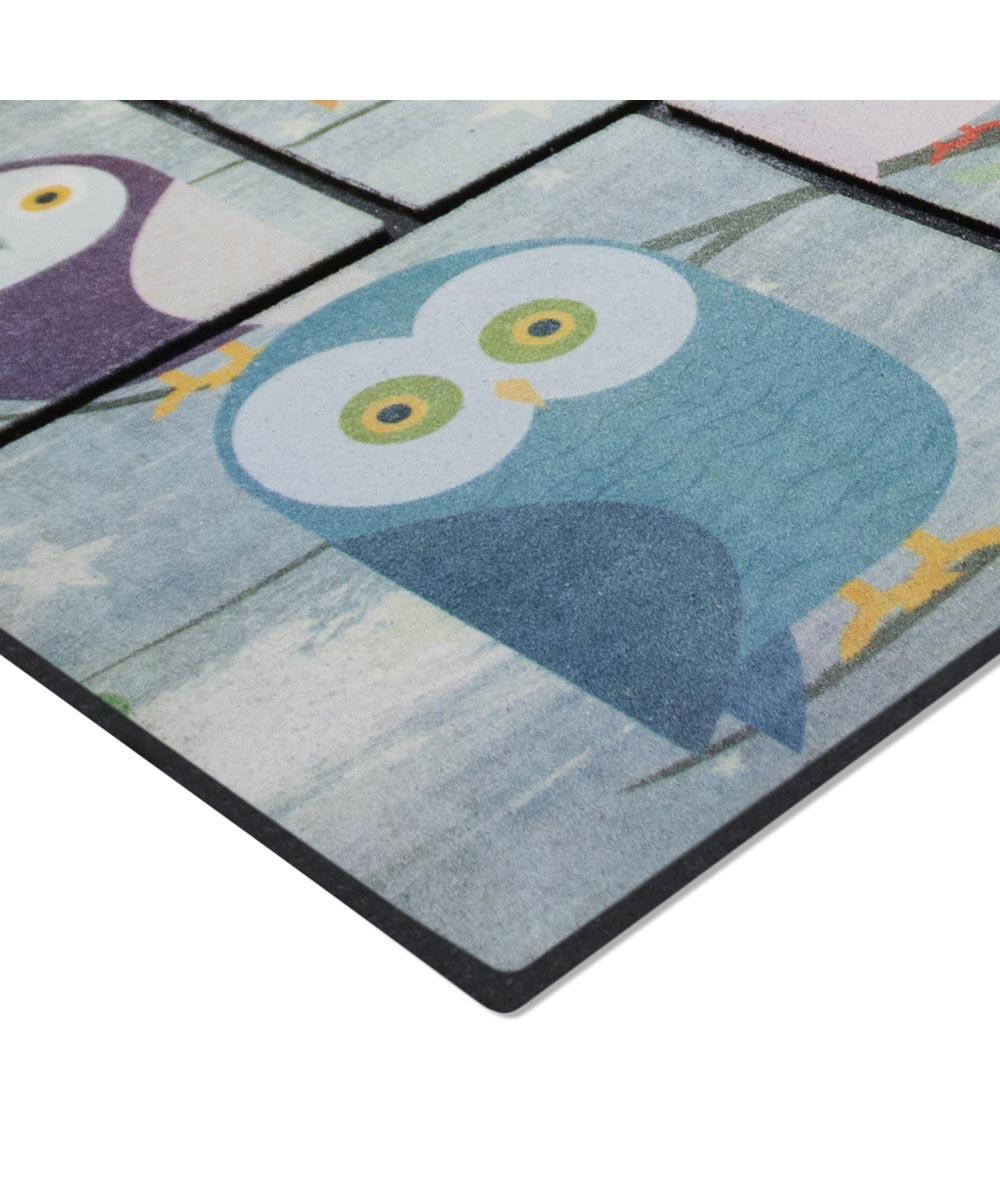 Multy 2 ft. x 3 ft. Owl Friends Rockwood Door Mat
