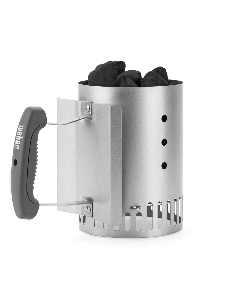 Weber Rapidfire Compact Chimney Starter for Charcoal