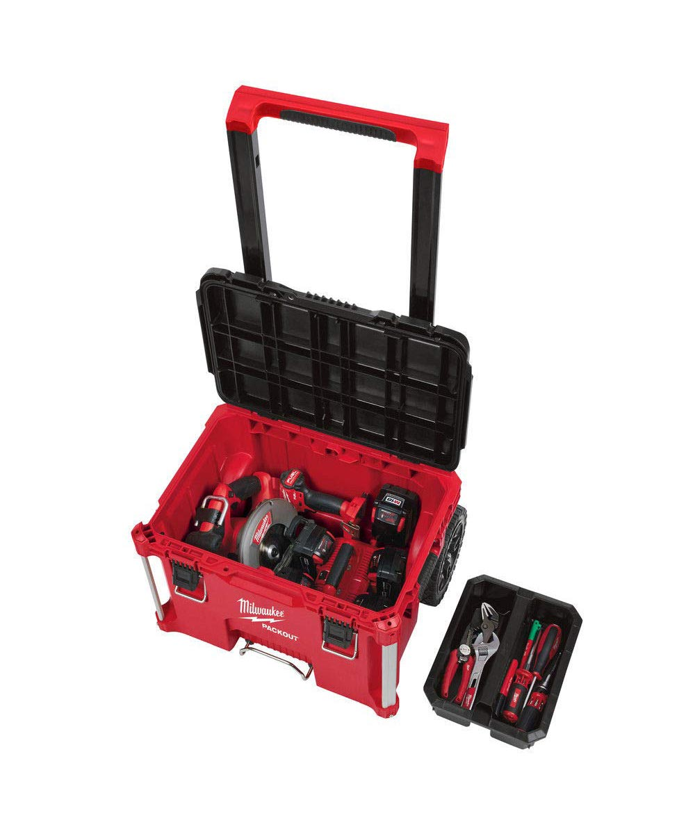 Milwaukee Packout 22 inch Rolling Tool Box