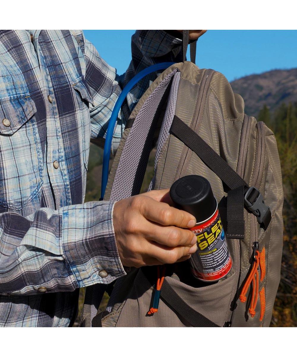 2 oz. Flex Seal MINI Spray Liquid Rubber Sealant Coating, Clear