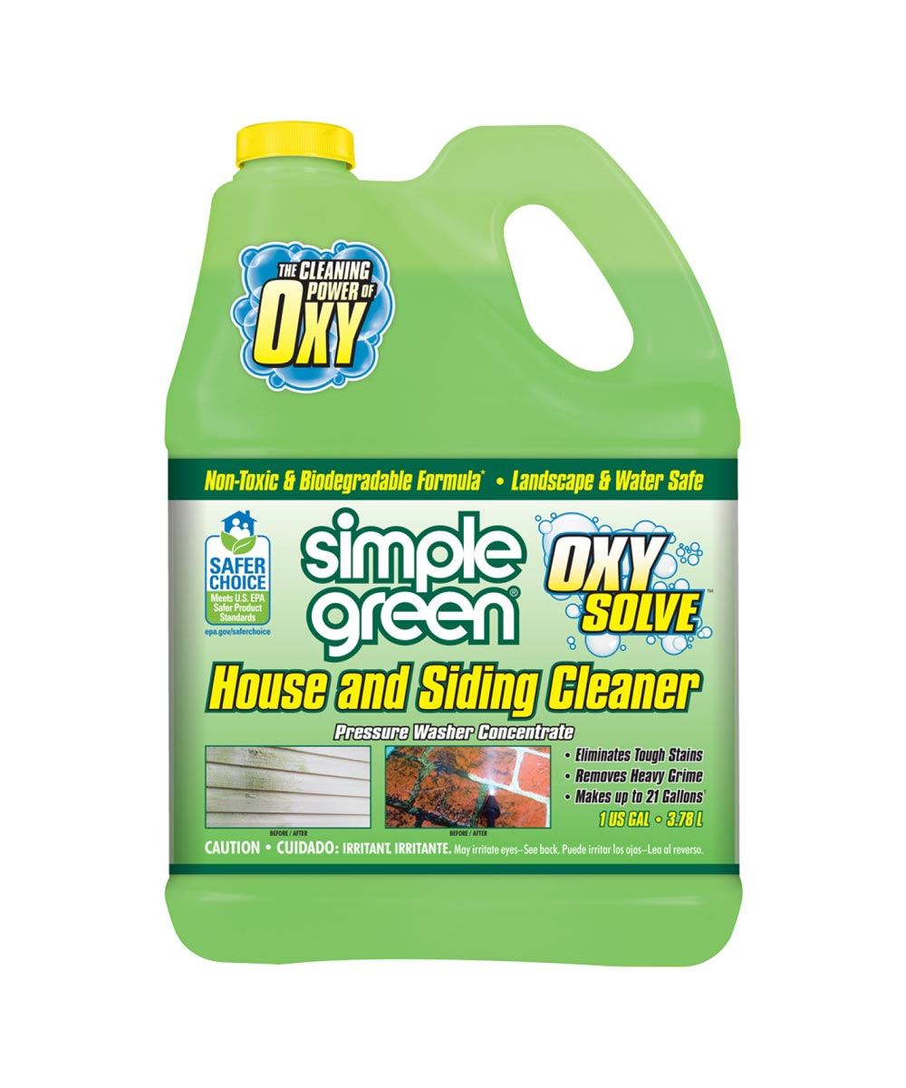 Simple Green1 Gallon Oxy Solve House and Siding Cleaner