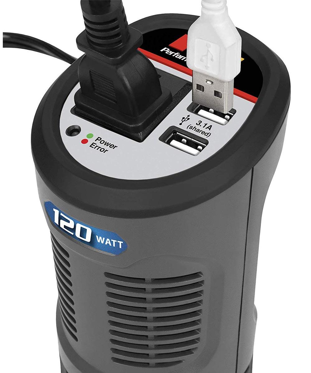 Performance Tool 120-Watt Cup Style Power Inverter