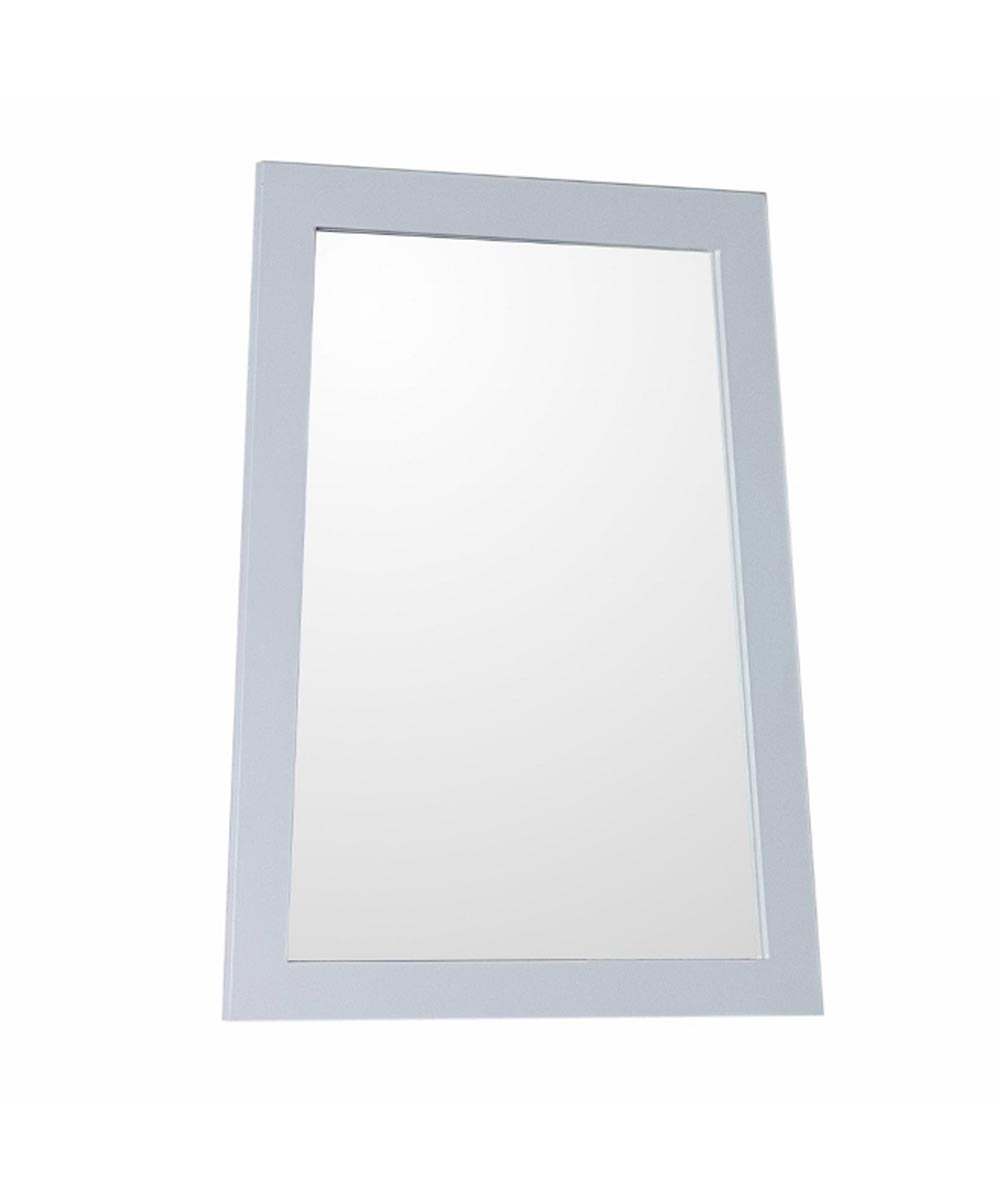 22 in. W x 28 in. H Ladder-Shape Framed Bathroom Mirror, White