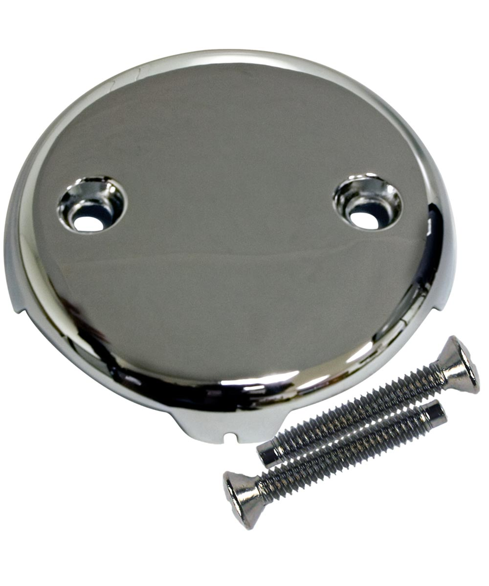 Overflow & Waste Plate, Two Hole