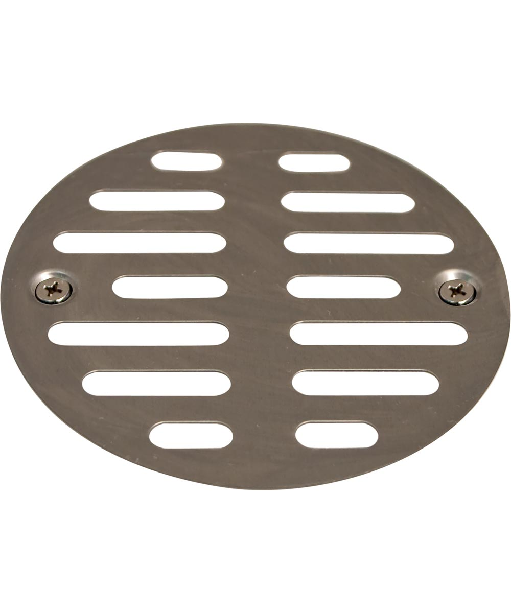 3-1/2 in. Shower Grill with Screws, Chrome Plated