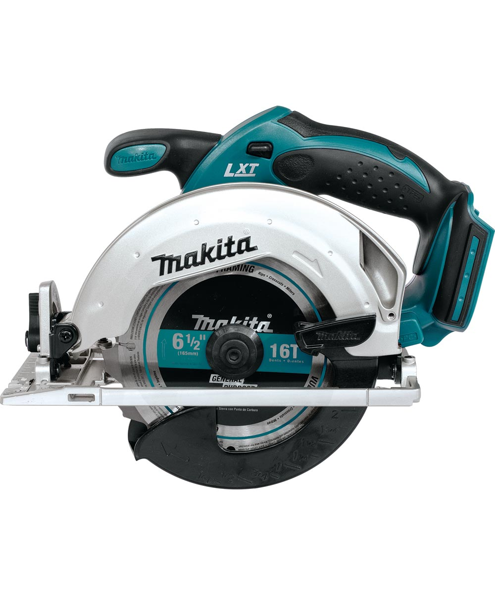 Makita Cordless 18V LXT Lithium Ion 6-1/2 in. Circular Saw (Tool Only)