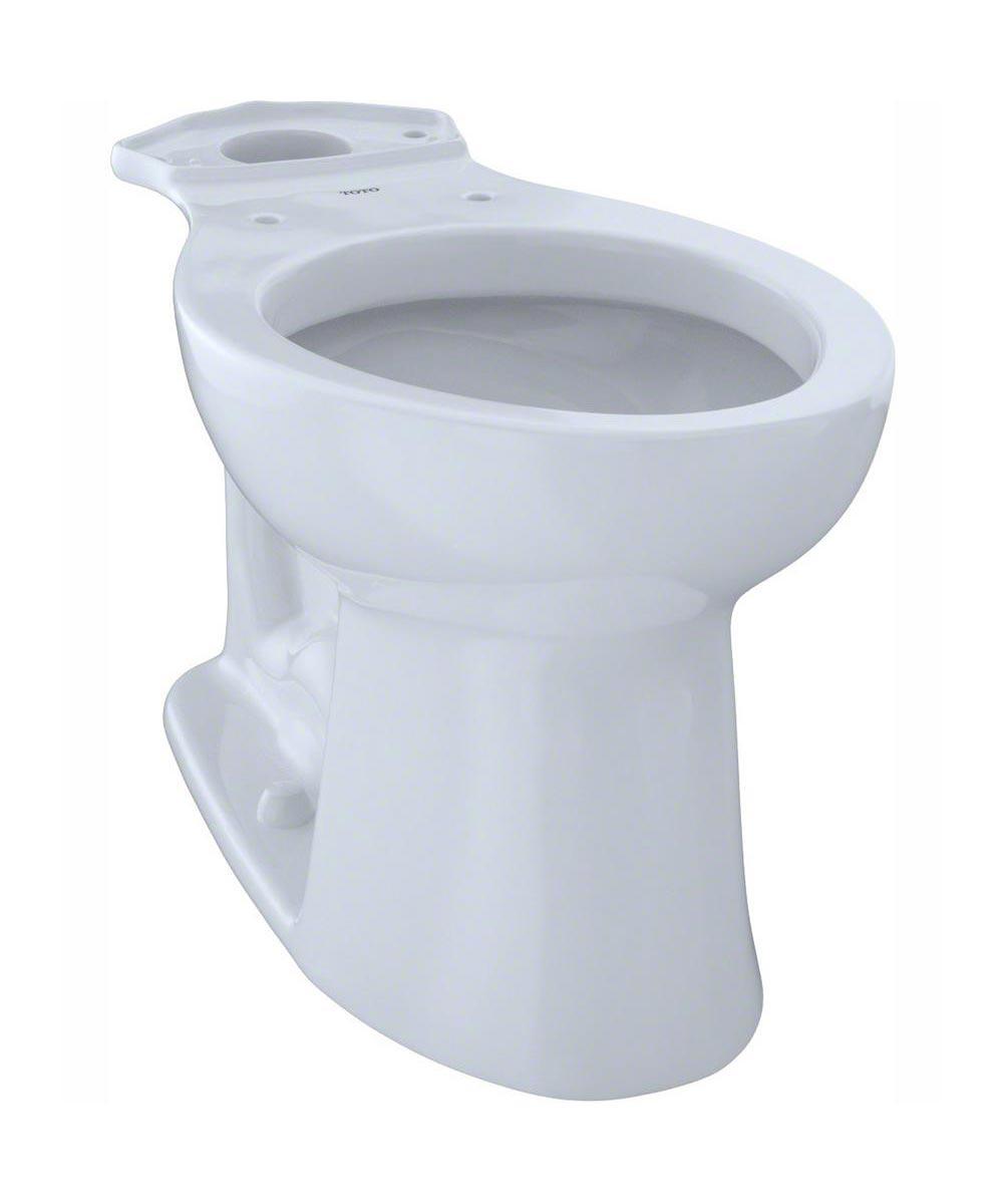 TOTO Entrada Elongated Chair Height Toilet Bowl, Cotton White