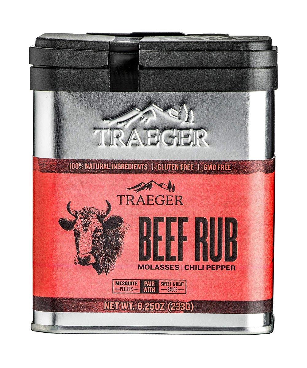 Beef Rub Molasses & Chili Pepper Seasoning, Gluten & GMO Free, 8.25 oz.