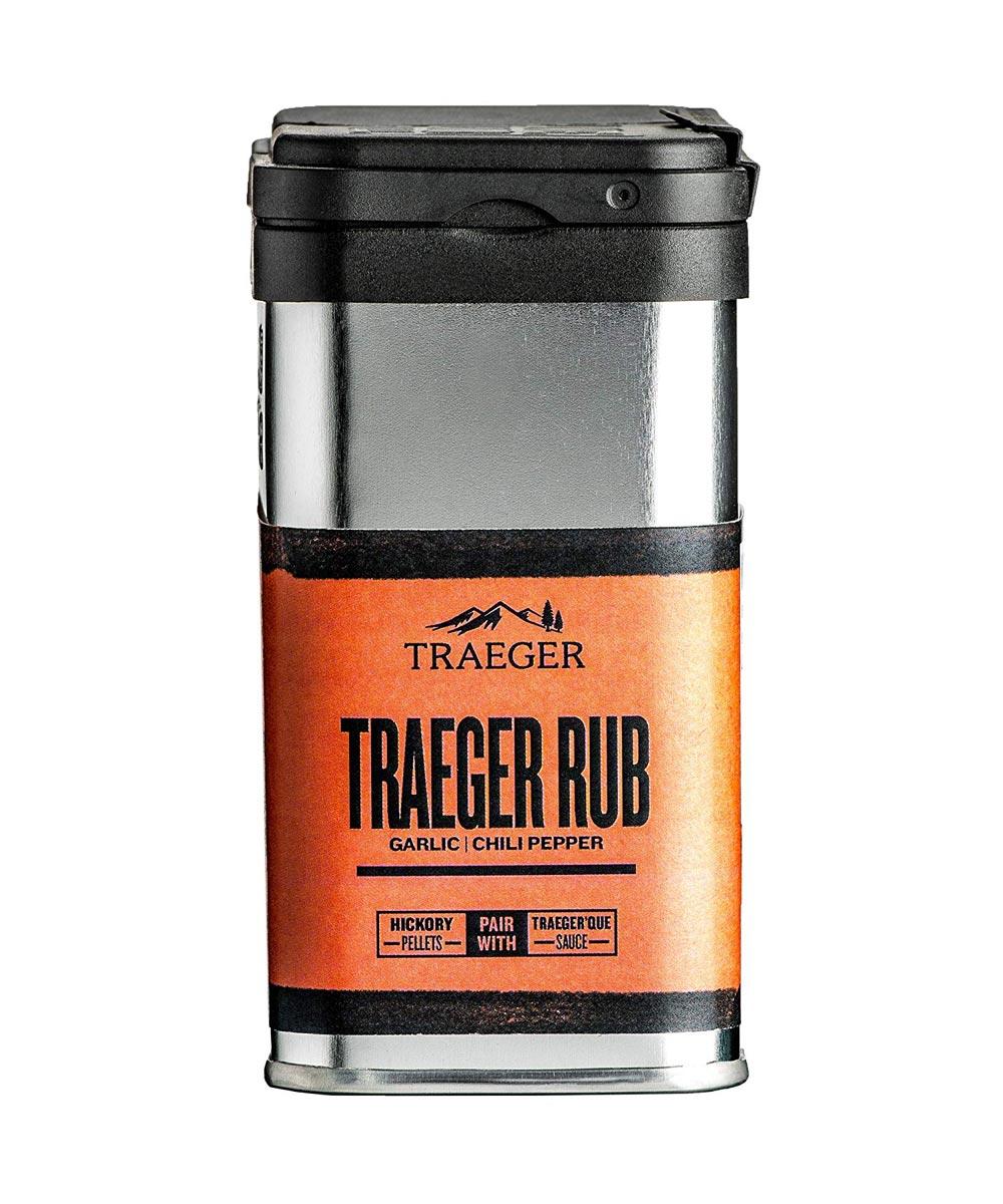 Traeger House Rub Garlic & Chili Pepper Seasoning, Gluten & GMO Free, 9 oz.