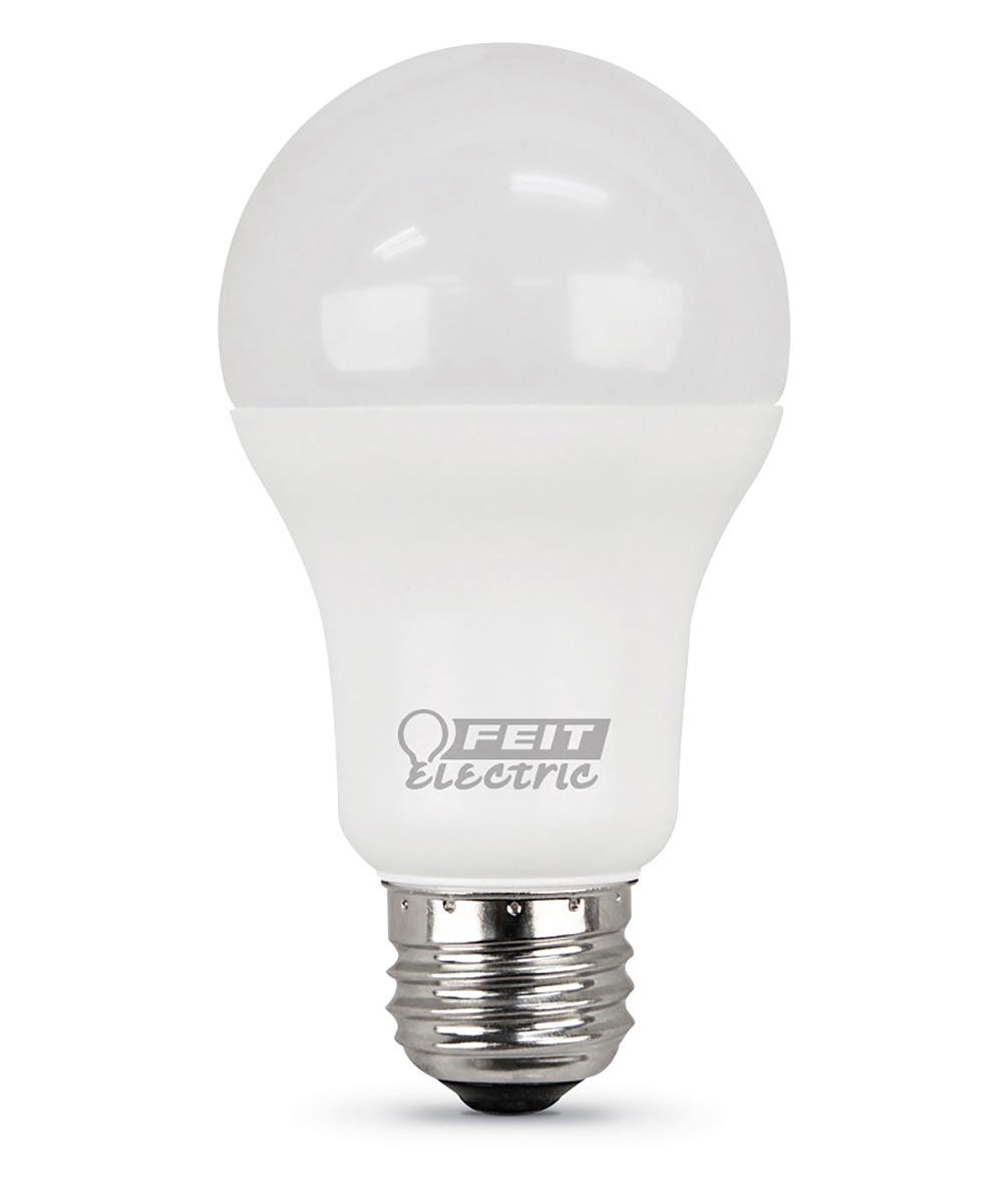 Feit Electric 15 Watt E26 A19 3000K Warm White LED Non-Dimmable Light Bulbs, 6 Pack