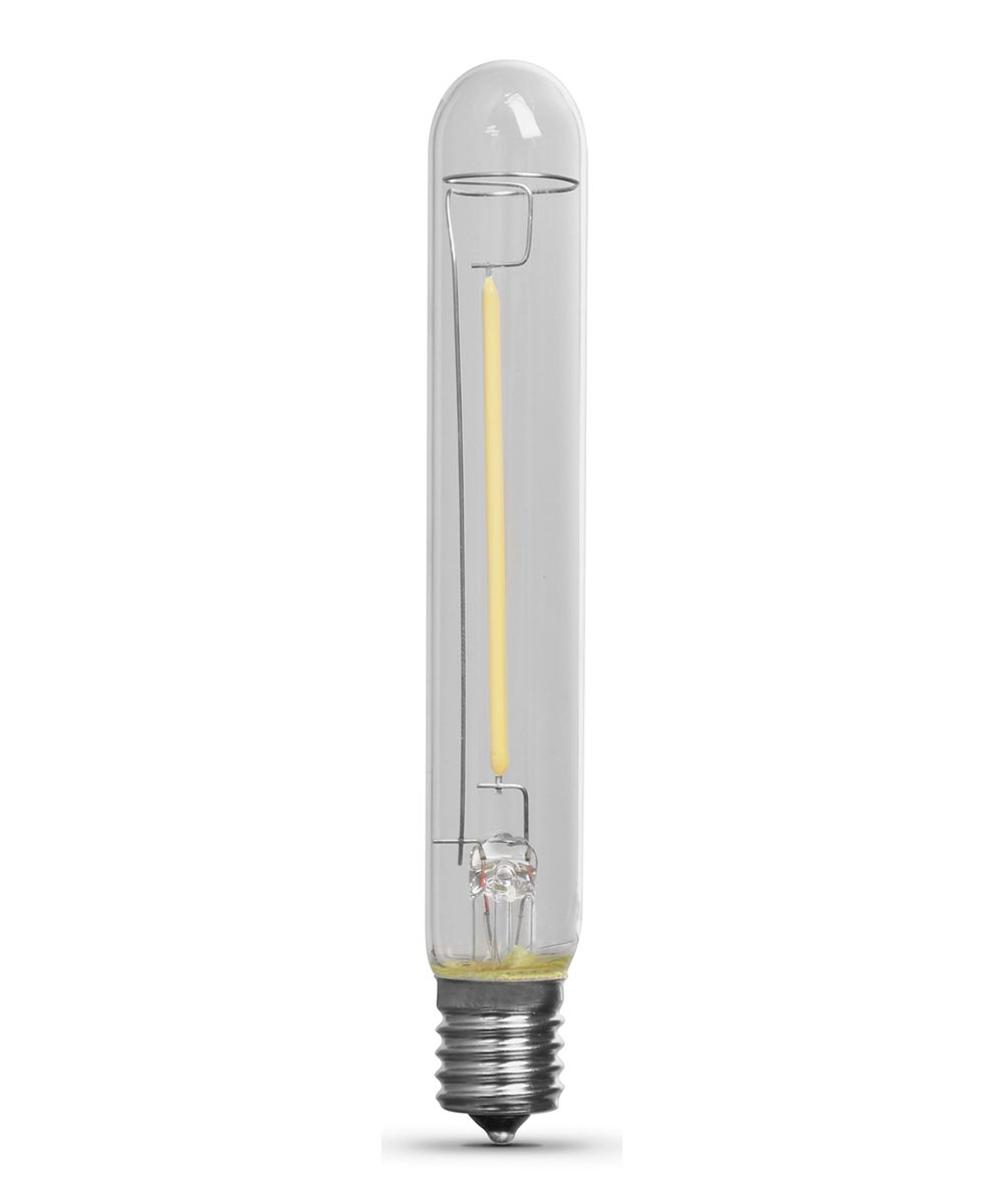 Feit Electric 2 Watt T6 1/2 E17 3000K Warm White LED Non-Dimmable Light Bulb