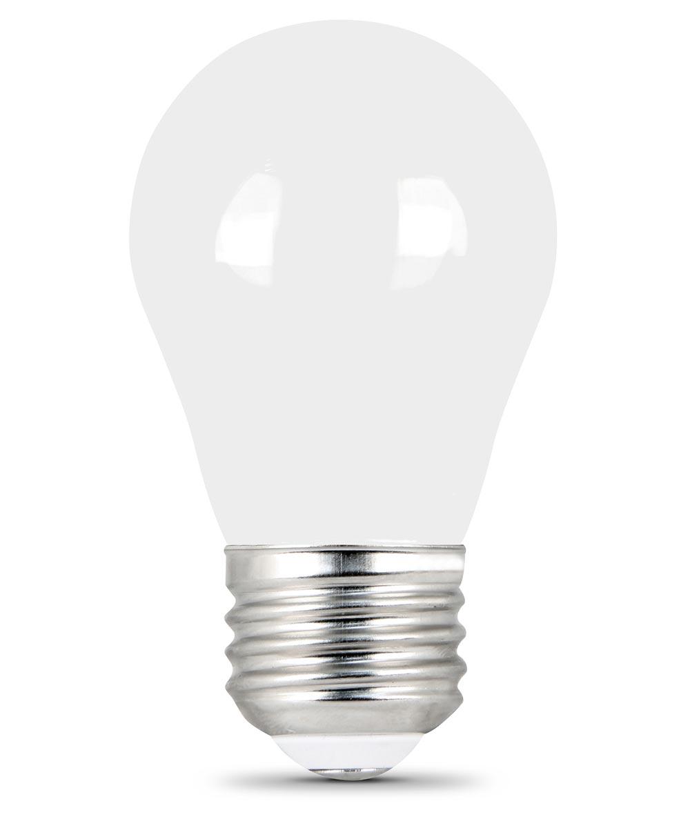 Feit Electric 5 Watt E26 A15 Clear 2700K Soft White LED Dimmable Light Bulbs, 2 Pack