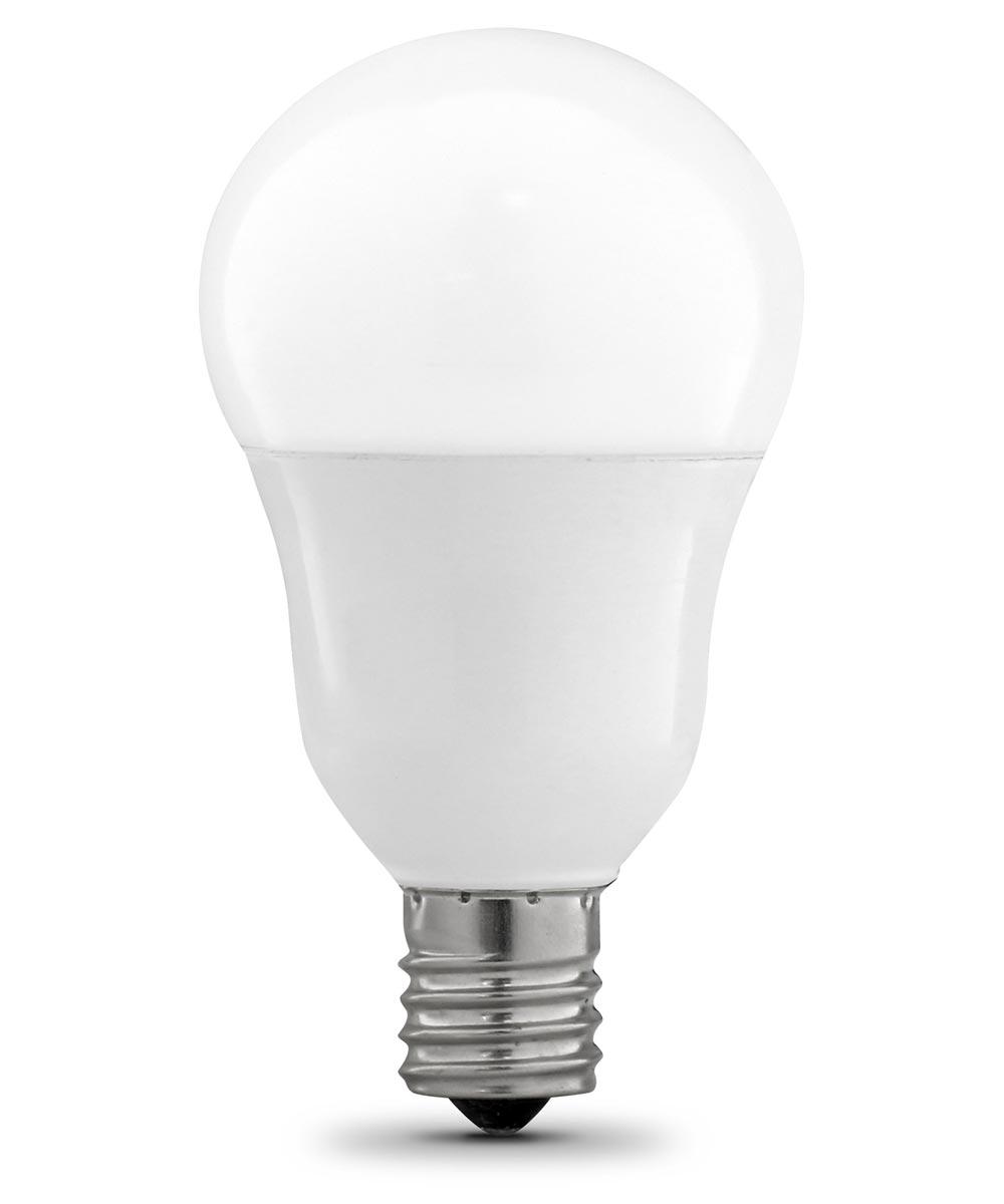 Feit Electric 8.3 Watt E17 A15 2700K Soft White LED Dimmable Light Bulbs, 2 Pack