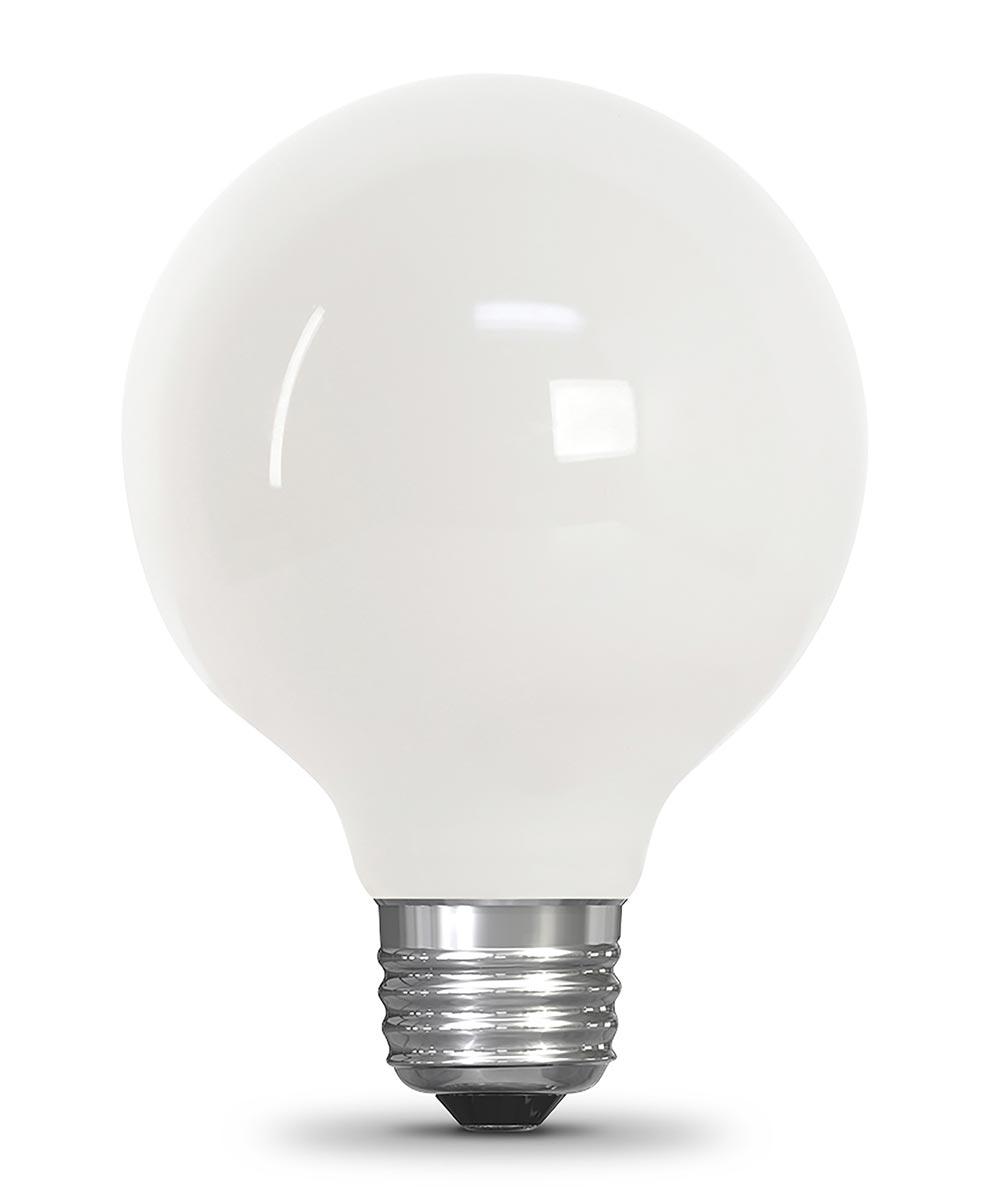 Feit Electric 3.8 Watt E26 G25 2700K Soft White LED Dimmable Light Bulb