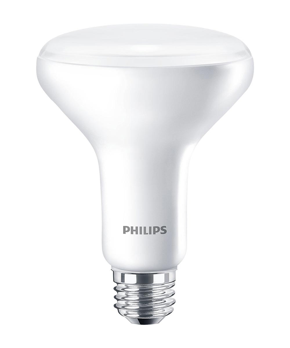 Phillips 8.5 Watt E26 BR30 Frosted 5000K Daylight LED Dimmable Reflector Light Bulb