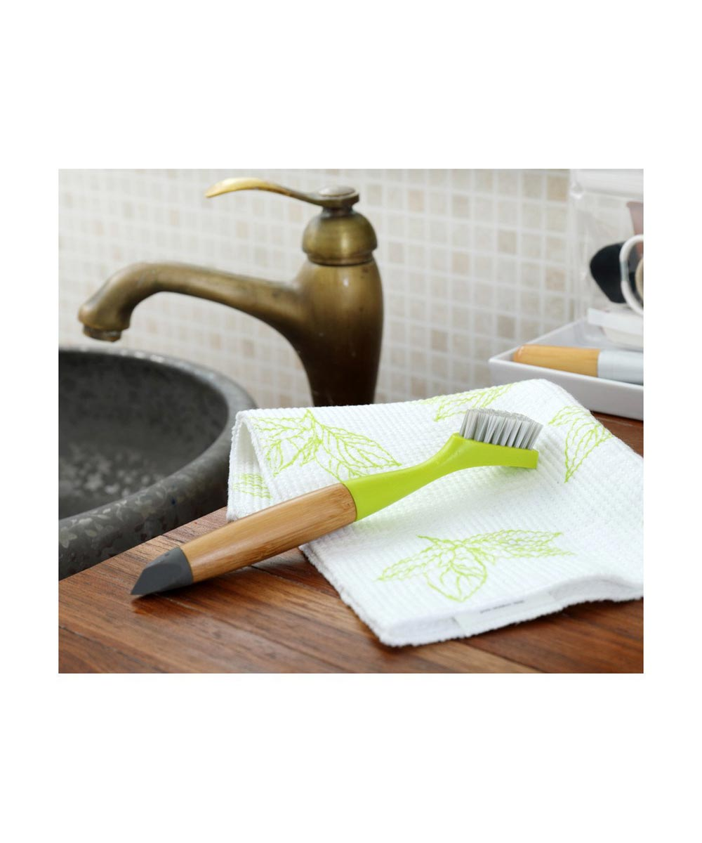 MICRO MANAGER Home Detail Brush, Green
