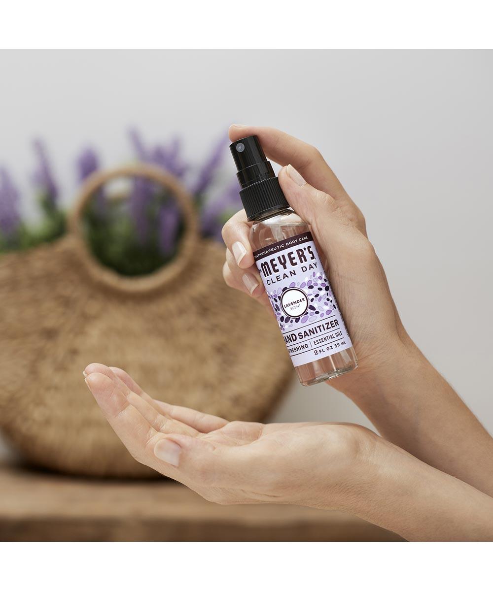 Mrs. Meyer's Hand Sanitizer, Lavender Scented, 2 oz. Spray