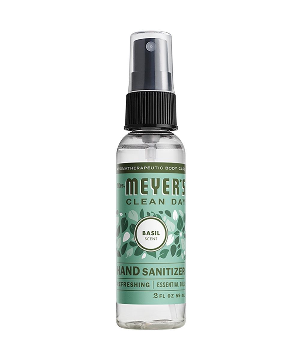 Mrs. Meyer's Hand Sanitizer, Basil Scented, 2 oz. Spray