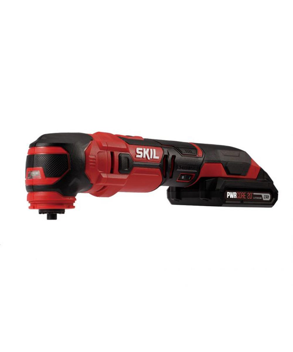 SKIL 20V Cordless Oscillating Multi-Tool Kit with PWRCore 20 Battery (2.0Ah) & Charger