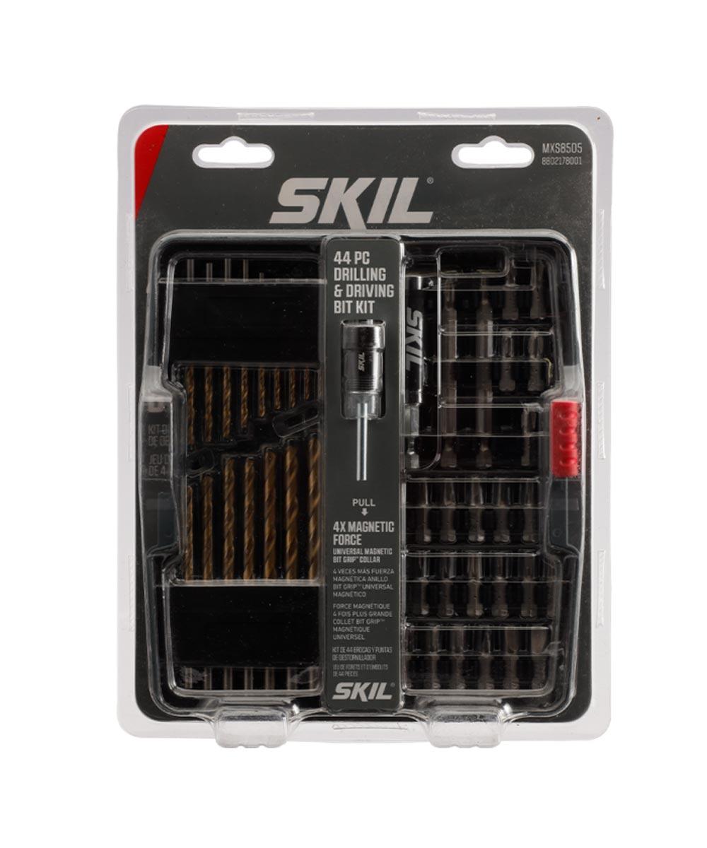 SKIL 44 Piece Drilling & Screw Driving Bit Set with Bit Grip