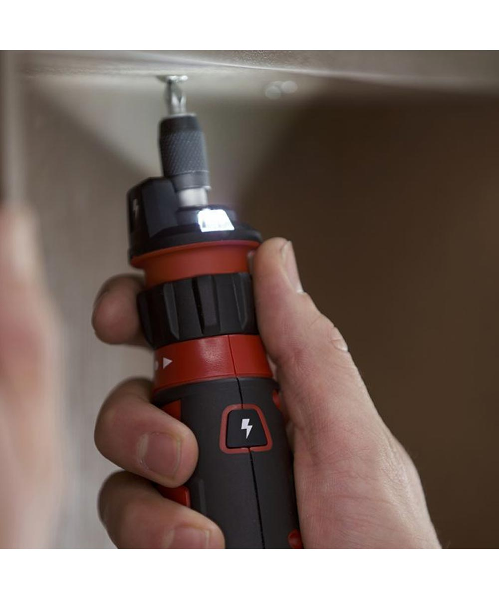 SKIL Rechargeable 4V Electric Screwdriver with Circuit Sensor Technology