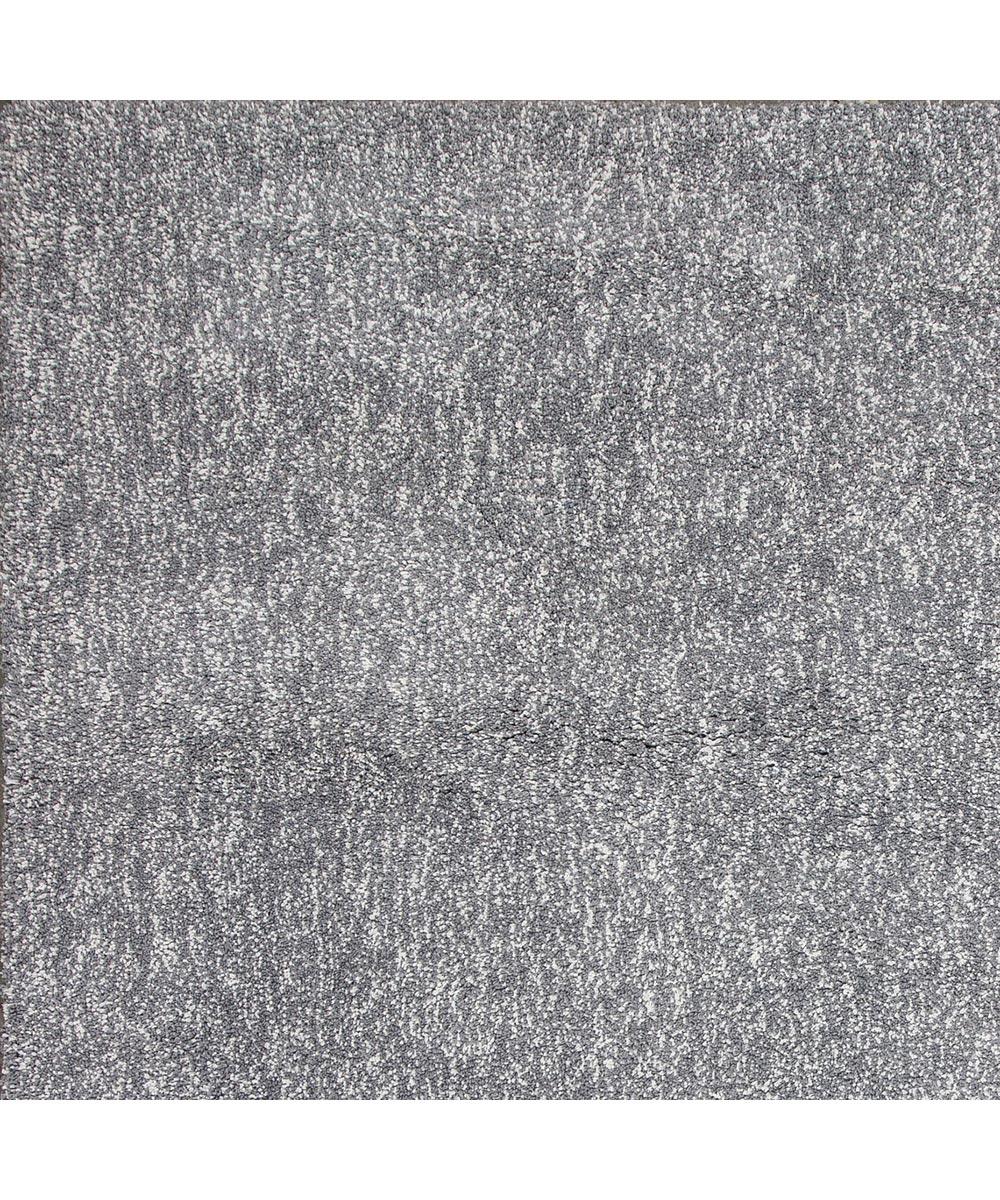 KAS 5 ft. x 7 ft. Bliss Grey Heather Shag Shag Area Rug