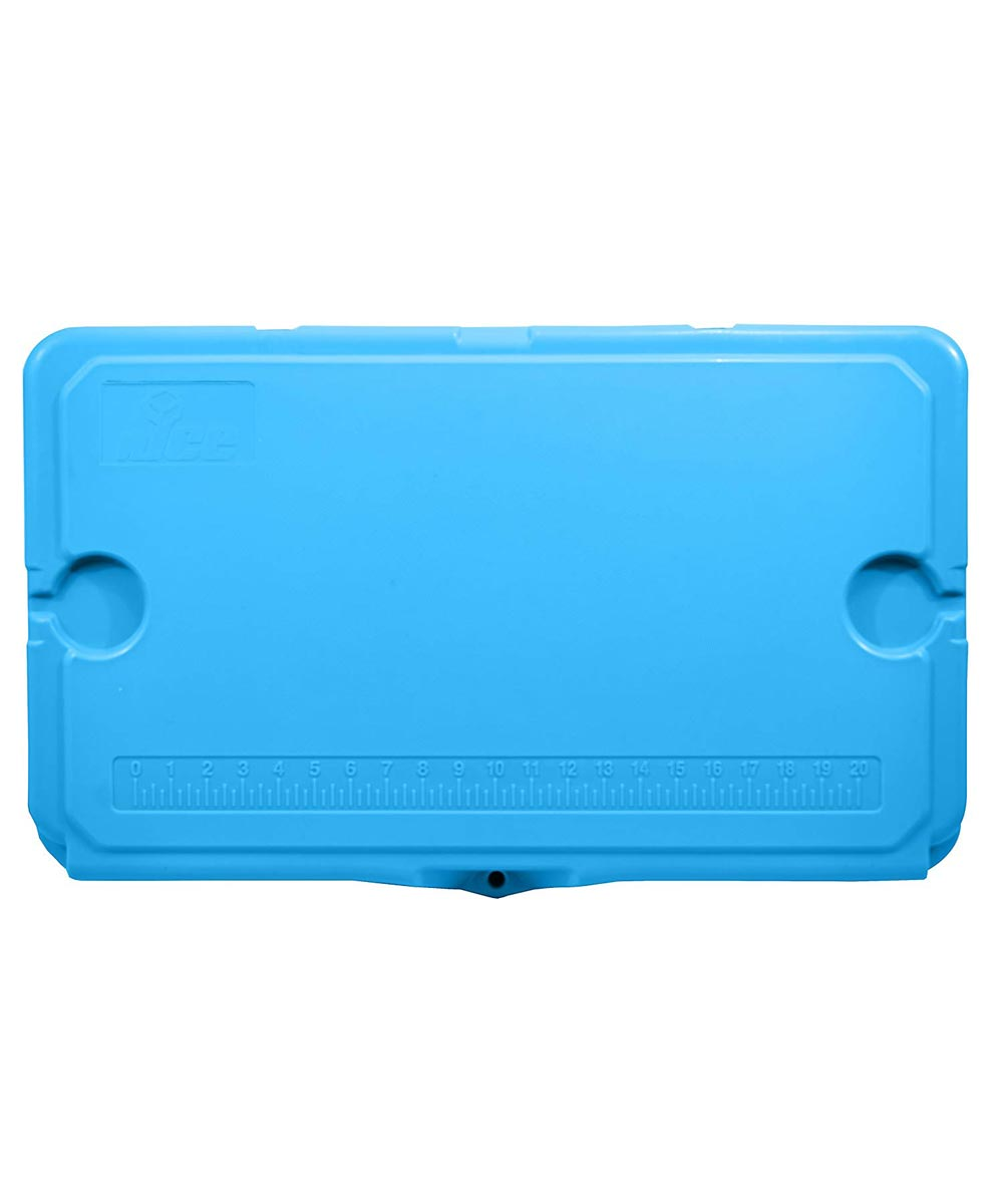 nICE 45 Quart Hardsided Roto Molded Cooler, Light Blue