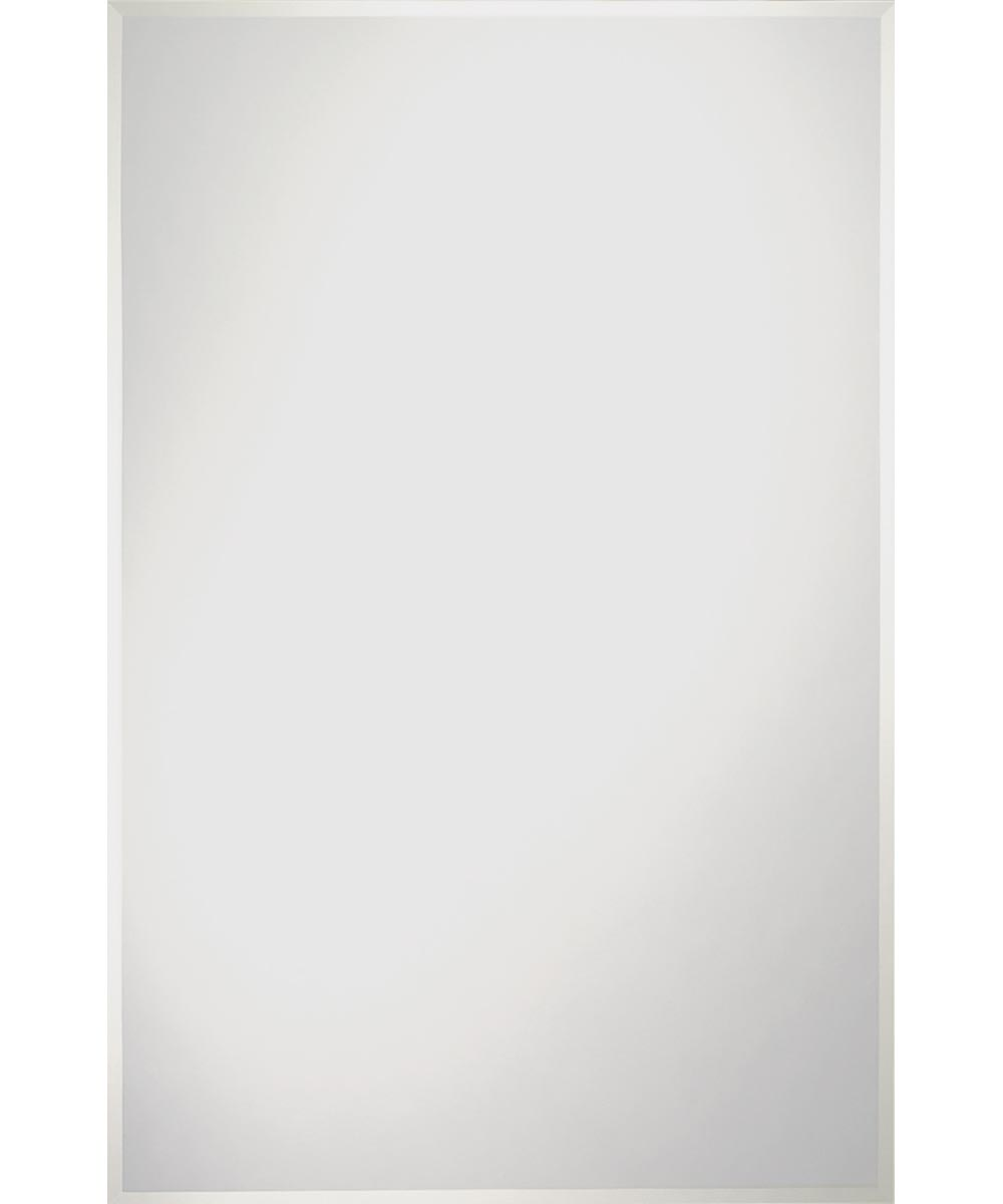 Somerset Frameless Wall Mirror, 30 in. (L) x 24 in. (W) x 3 mm T, Rectangle