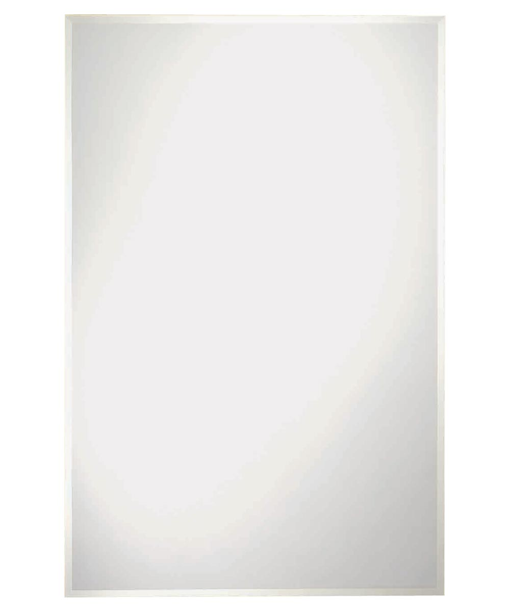 Somerset Frameless Wall Mirror, 36 in. (L) x 24 in. (W) x 3 mm T, Rectangle