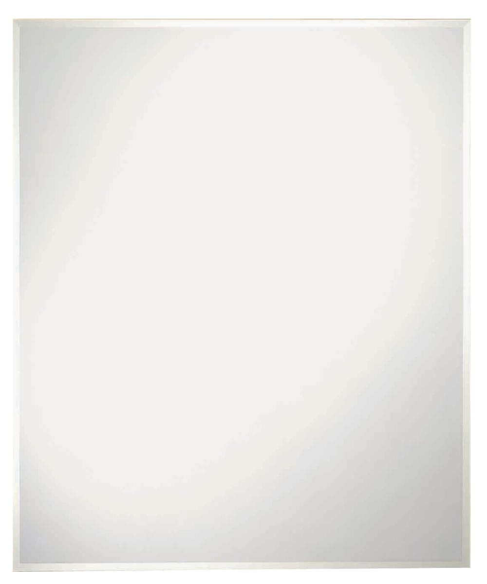 Somerset Frameless Wall Mirror, 36 in. (L) x 30 in. (W) x 3 mm T, Rectangle