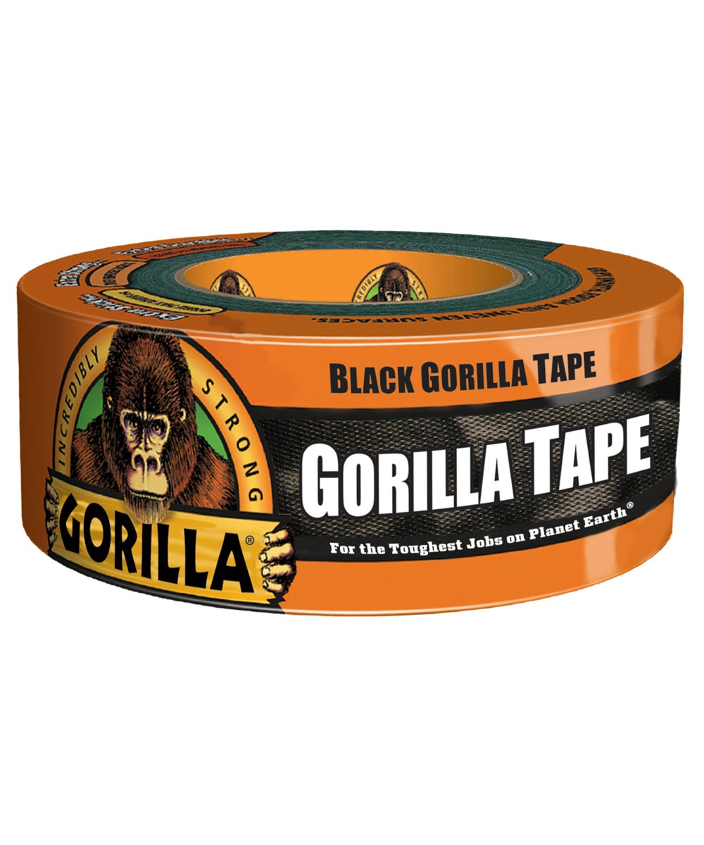 Black Gorilla Tape, 1.88 in. x 12 yd.
