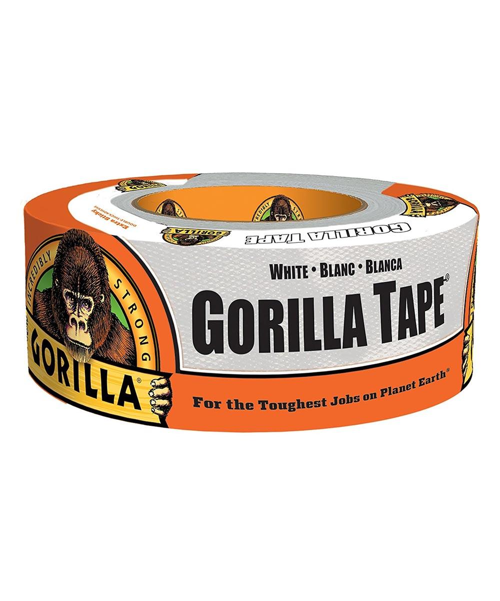 Gorilla White Tape, 1.88 in. x 10 yd.
