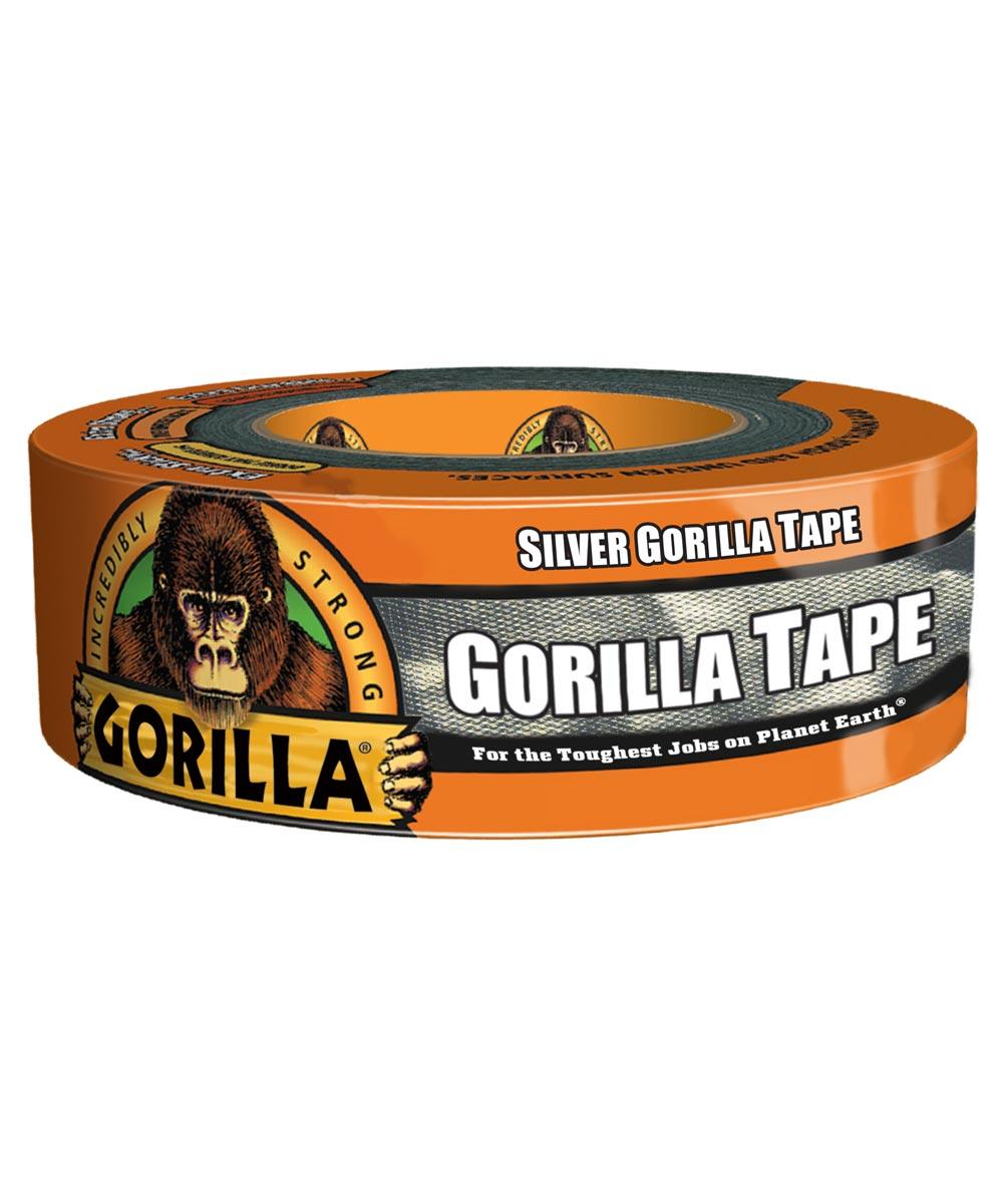 Gorilla Silver Tape, 1.88 in. x 35 yd.